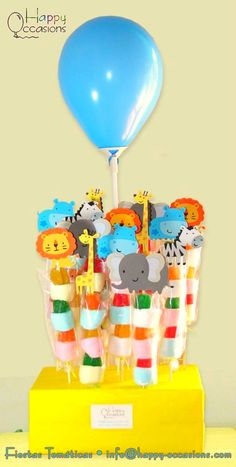 Maybe shopkins on top Jungle Theme Birthday, Safari Birthday Party, Farm Birthday, Jungle Party, Animal Birthday, Baby Party, First Birthday Parties, 10e Anniversaire, Animal Party