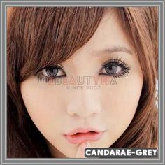 Candarae Grey Diameter : Base Curve : Water Content : Life Span: 1 Year Disposable (recommend use for months) with proper lens care. Package : 2 pieces of lenses ( Vials / Blisters – vary by series ) Origin: South Korea Grey Contacts, Colored Contacts, Circle Lenses, Eye Circles, Cute Eyes, Makeup, 8 Months, Beauty, Beautiful