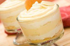 Bananen Pudding Tiramisu - super Idee für zu reife Bananen die keiner mehr essen will...