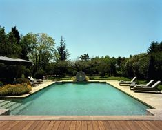 Le Mas de Chabran puts a fresh spin on country living in Provence - The Spaces Country Pool, Lacoste, French Castles, Hotel Pool, Agapanthus, Luxury Villa, Jacuzzi, Renting A House, Nice View
