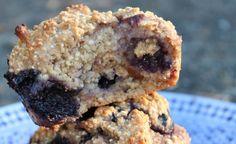 Blueberry Muffins from Forks Over Knives (vegan, plant-based)