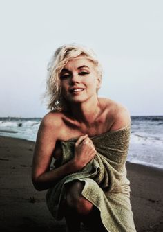 Marilyn Monroe. This is my favourite picture of her.
