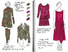 amy clay knitwear design portfolio on Behance