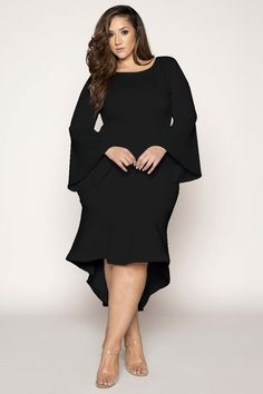 43 Stylish Plus Size Women Outfits for Winter Party , Plus Size Wedding Guest Dresses, Plus Size Party Dresses, Evening Dresses Plus Size, Plus Size Dresses, Plus Size Outfits, Plus Size Gala Dress, Outfit Vestido Negro, Xl Mode, Plus Size Black Dresses
