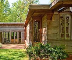 When Frank Lloyd Wright began practicing architecture at the turn of the 20th century, American suburbs were a pastiche of borrowed European architectural styles