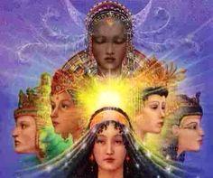 7 Goddess Archetypes of Empowerment Divine Goddess, Triple Goddess, Goddess Art, Divine Mother, Mother Goddess, Goddess Names, Sacred Feminine, Devine Feminine, Feminine Energy