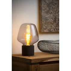 LUXE table lecture Lampe chambre enfant Lampe Câble Interrupteur variateur télécommande