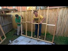 ▶ DIY: building your own shed - YouTube