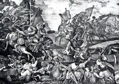 Bătălia de la Călugăreni: Mihai a obţinut o victorie morală Antique Prints, Renaissance, Medieval, Army, Antiques, Painting, Battle, Gi Joe, Antiquities