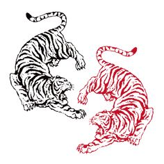 Tiger Design Old School Tiger Design Tattoo You are in the right place about Tattoo Pattern sleeve Here we offer you the most beautiful pictures about the Tiger Design, Tiger Tattoo Design, Design Design, Sketch Design, Design Ideas, Tattoo Sketches, Tattoo Drawings, Body Art Tattoos, Small Tattoos
