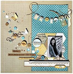 Kristine Davidson for Creative Scrappers