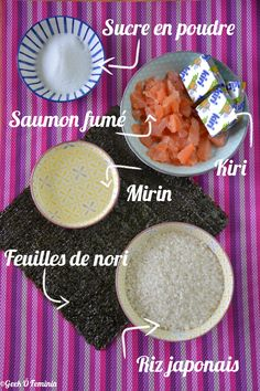 Petits makis au Kiri, un vrai régal ! #kiri #recette #japonais #makis #fromage