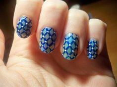 blue & black - Nail Art Gallery nailartgallery.nailsmag.com by nailsmag.com