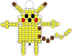 pikachu Pony Bead Pattern