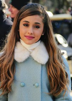 Ariana's winter style is perfect!