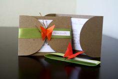 origami invitation - Google Search