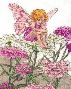 Candytuft Fairy Cross Stitch