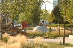 Garden City Play Environment by landscape architects Natural Play Spaces, Outdoor Play Spaces, Playground Design, Outdoor Playground, Children Playground, Garden City Park, Urban Nature, Art Sculpture, Parking Design