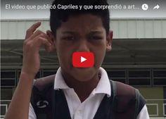 Niño rapero le lanza duro a Maduro  http://www.facebook.com/pages/p/584631925064466
