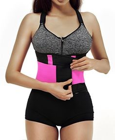 06e903550bc Waist Trainer for Weight Loss Tummy Trimmer Stomach Belt Ab Cincher Corset  Girdle L The waist