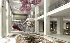 Baltschug Kempinski Moscow: new lobby
