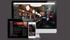 The new responsive website for 4EG's Easy Bar in Chicago has launched! Check out the website design's exciting new features and sleek functionality.