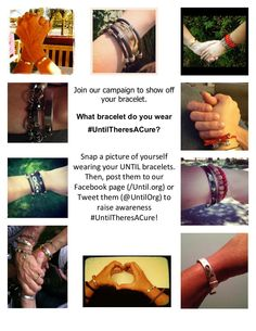 Do you wear HOPE or AFRICAN ART or The Classic Cuff #UntilTheresACure? How do you show pride & end stigma?
