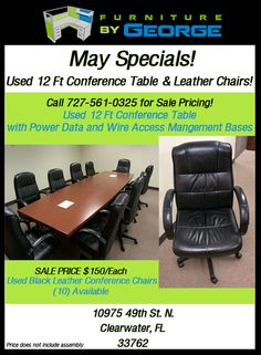 Monthly Office Furniture Specials | Clearwater, Tampa, St. Petersburg