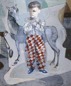 Candido Portinari - Portrait of João Candido with Pony