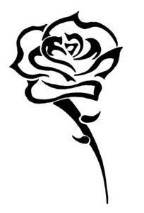 10 Dibujos De Rosas Tribales Para Tatuaje Tatuajes De Rosa Tribal Dibujos De Rosas Tatuaje Celtico