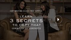 "This is ""Copy Cure Freebie Class Opt In"" by Marie Forleo on Vimeo, the home for high quality videos and the people who love them. Marie Tv, How To Find Out, How To Become, Marie Forleo, Writing Classes, Marketing Materials, Copywriting, Coaching, The Cure"