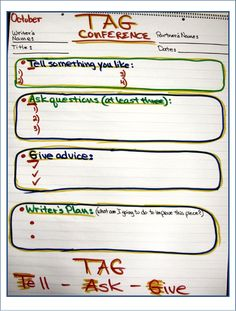TAG Conference anchor chart