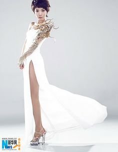Dragon Dress.  wouldnt wear the slit that high though.  :P