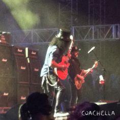 Slash with Motörhead Coachella 2014