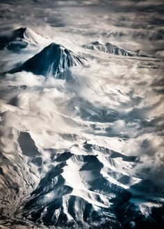 Kamchatka Peninsula Volcanoes - craziness. Plus there is good fly-fishing, apparently.