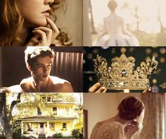 The Prince, The Girl, The Yellow House, and The Crown. Not my favorite crown but I like the idea.