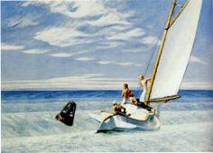 Edward Hopper - Ground Swell (1939)