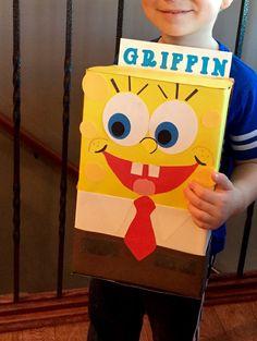 SpongeBob Valentine's Day Box for school party!