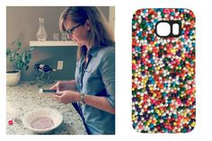 How to make your own photo-real gifts: Fantastic tutorial, whether you want an iPhone case, water bottle, cool accessories, or a new pair of leggings! (Really!)
