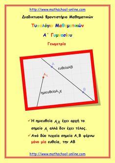 http://www.mathschool-online.comΔιαδικτυακό Φροντιστήριο Μαθηματικών    Τυπολόγιο Μαθηματικών           Α΄ Γυμνασίου      ...