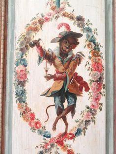 Singerie, dans la Villa Ephrussi de Rothschild