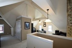 Finished attic