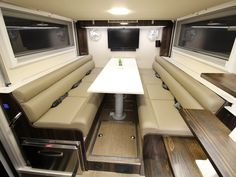 One of the World's Largest RVs Is This Two-Story RV Roaming Australia Luxury Campers, Overland Trailer, Off Road Camper, White Interior Design, Floating Stairs, Expedition Vehicle, Functional Kitchen, Lounge Areas, Motorhome