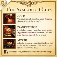 The Symbolic Gifts of Christmas - Gold, Frankincense and Myrrh Noel Christmas, Christmas Quotes, 12 Days Of Christmas, Christmas Blessings, Xmas, Christian Christmas, Preschool Christmas, Christmas Games, Christmas Greetings