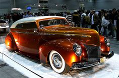 1940 Mercury, Built by Gene Winfield