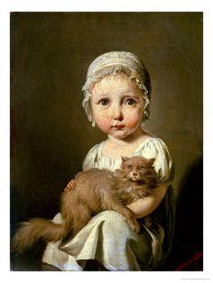 Gabrielle Arnault as a child. What a precious face! <3