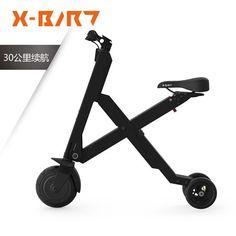 锋鸟X-bird 锂电折叠电动车成人迷你电动滑板车代驾代步车电瓶车