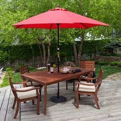(click twice for updated pricing and more info) #market_umbrella #outdoor_umbrellas http://www.plainandsimpledeals.com/prod.php?node=47008=Wood_Patio_Umbrellas_-_Key_Largo_9-ft._Wood_Market_Umbrella_-_GLT080#