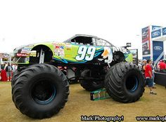 Carl Edwards #99 Aflac monster truck