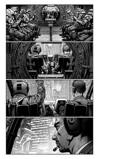First look at Chris Weston's Akira storyboards